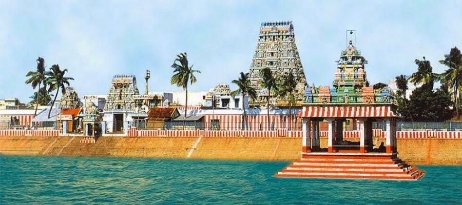 El Templo Kapaleeswarar en Chennai, India