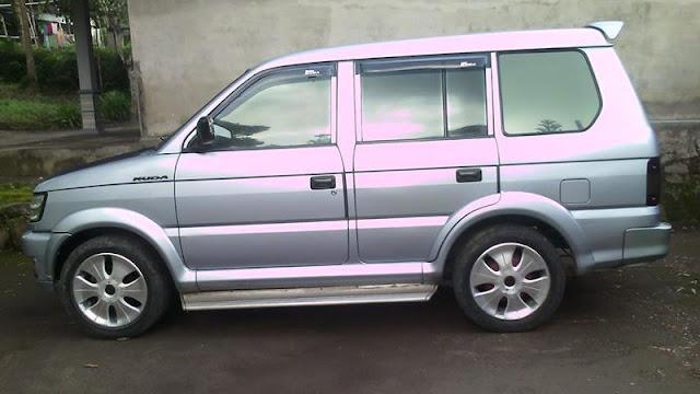 Mitsubishi Kuda bensin short