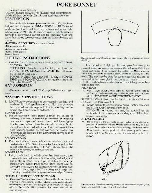 Chapéus Para Bonecas Com Moldes 6