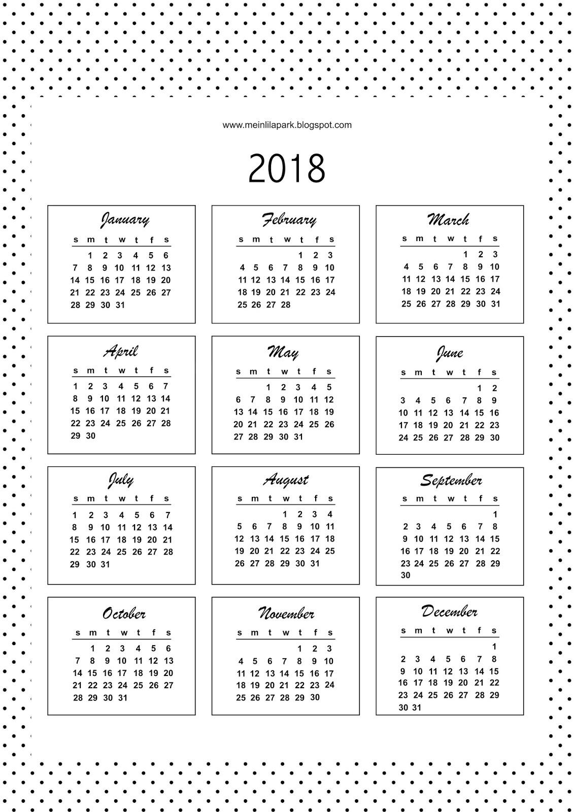 Free Printable Bullet Journal Templates Calendar