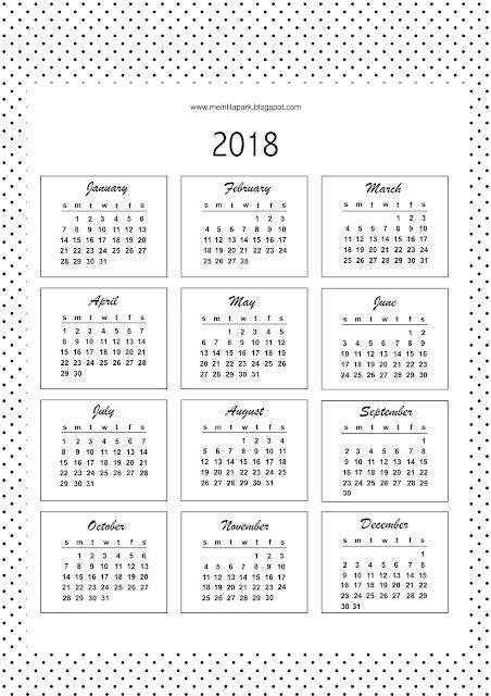 easy print calendar 2018 printable calendar hc small printable pages