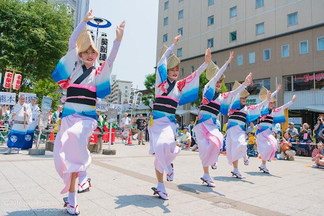 葵新連、女踊りの写真 2枚目