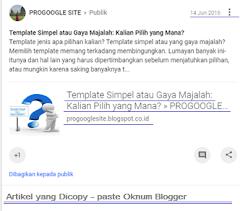 Maling! Oknum Blogger Pencuri Content Blog