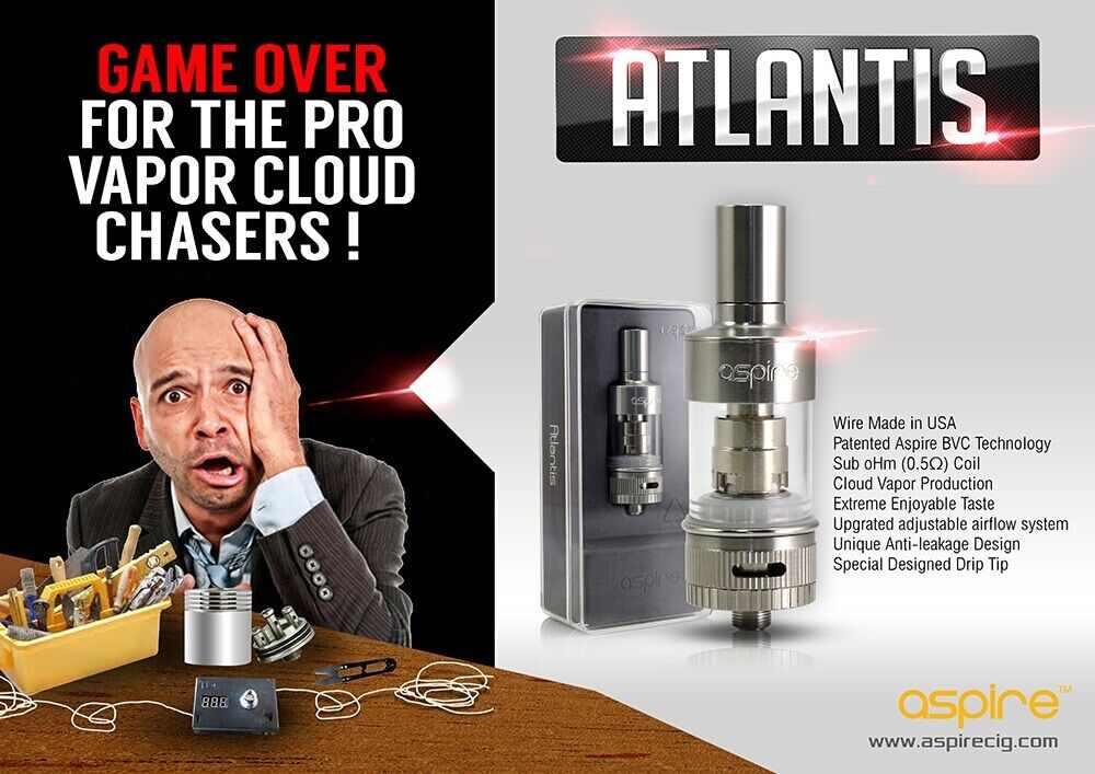 How To Change Glass Tank On Aspire Atlantis ECIG Vape Pen | How To
