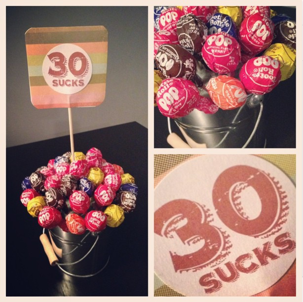 30th Birthday Gift Idea Bouquet