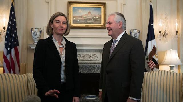 Mogherini a Trump: No interfiera en la política de la UE