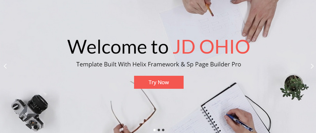 JD Ohio Creative Multipurpose Joomla Templates