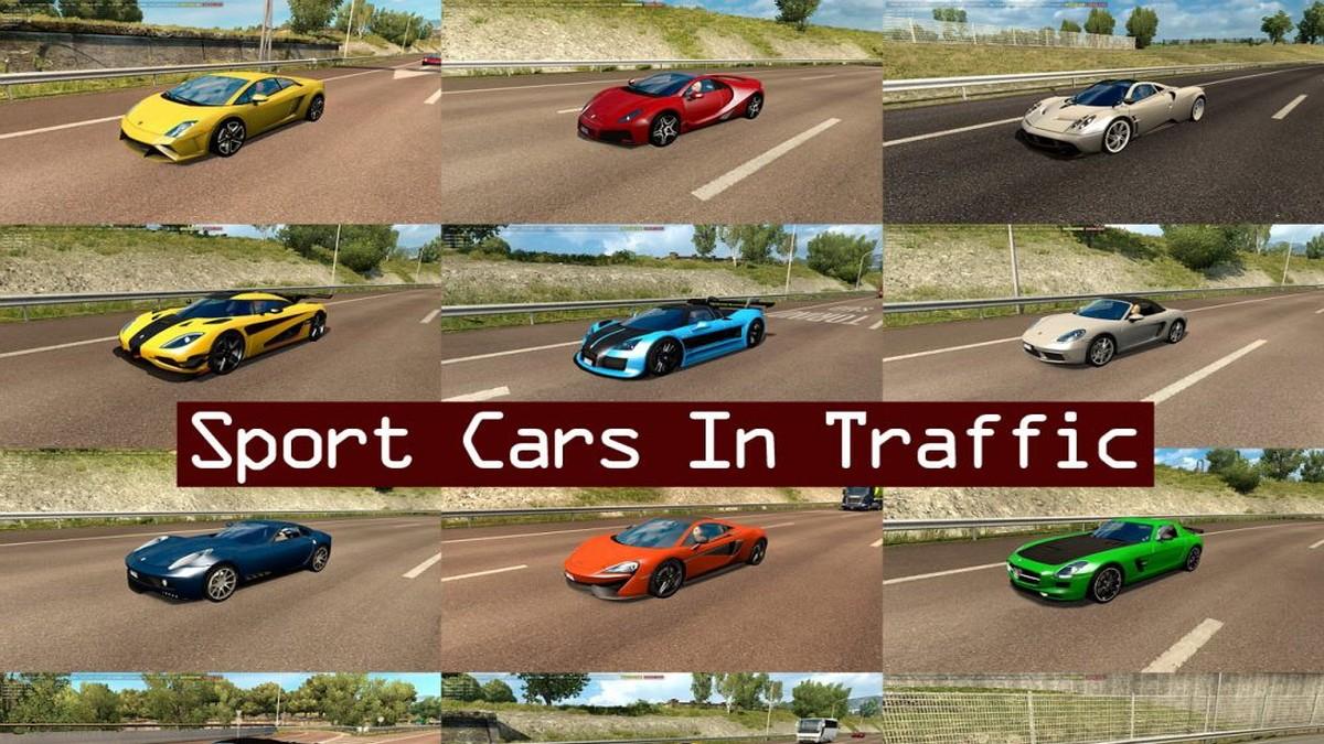 Sport Cars Traffic Pack v1.1
