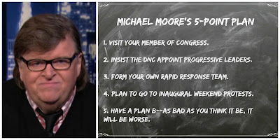 Michael Moore's Five Point Plan