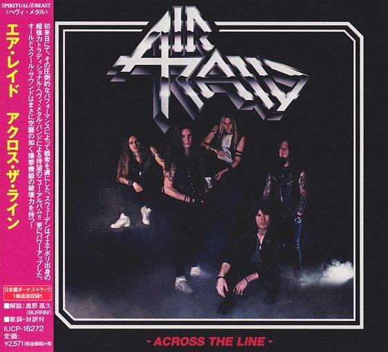 AIR RAID - Across The Line [Japanese Edition] (2017) full