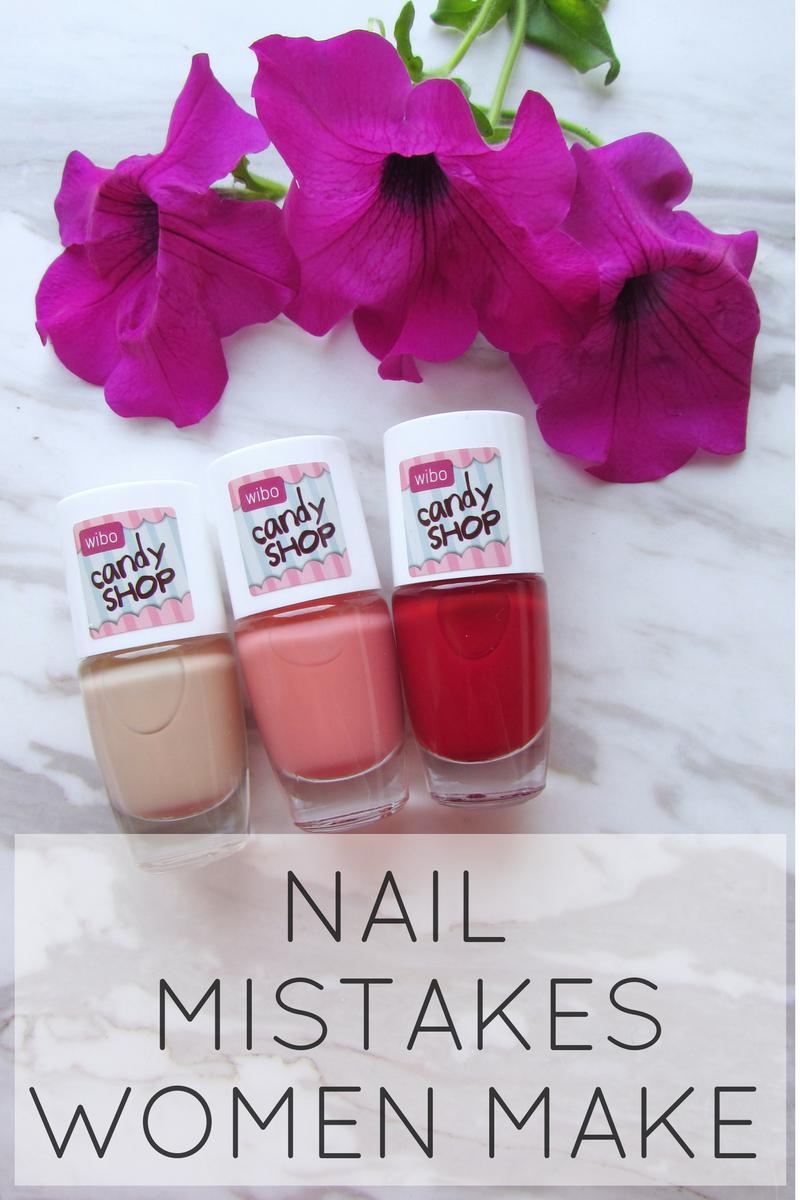 7 nail mistakes women make