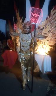 Pengiring Lampion Garuda Desa Losari