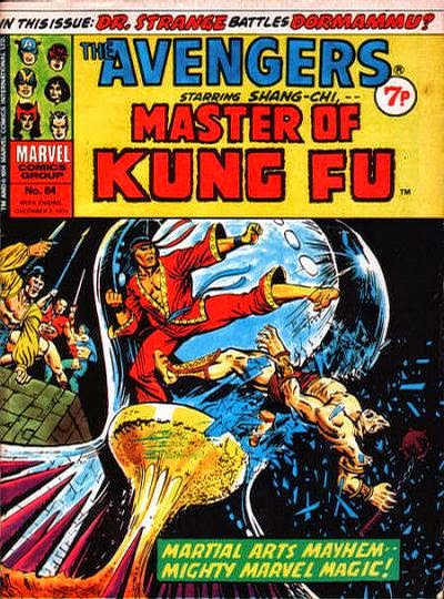 Marvel UK, Avengers #64, Shang-Chi