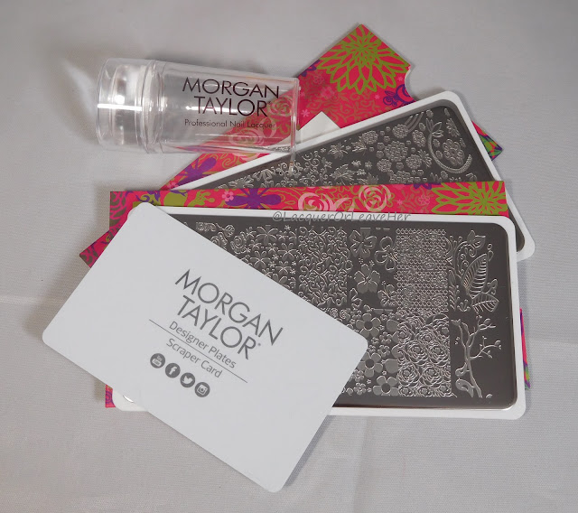 Morgan Taylor's Flirty Florals Stamping Kit