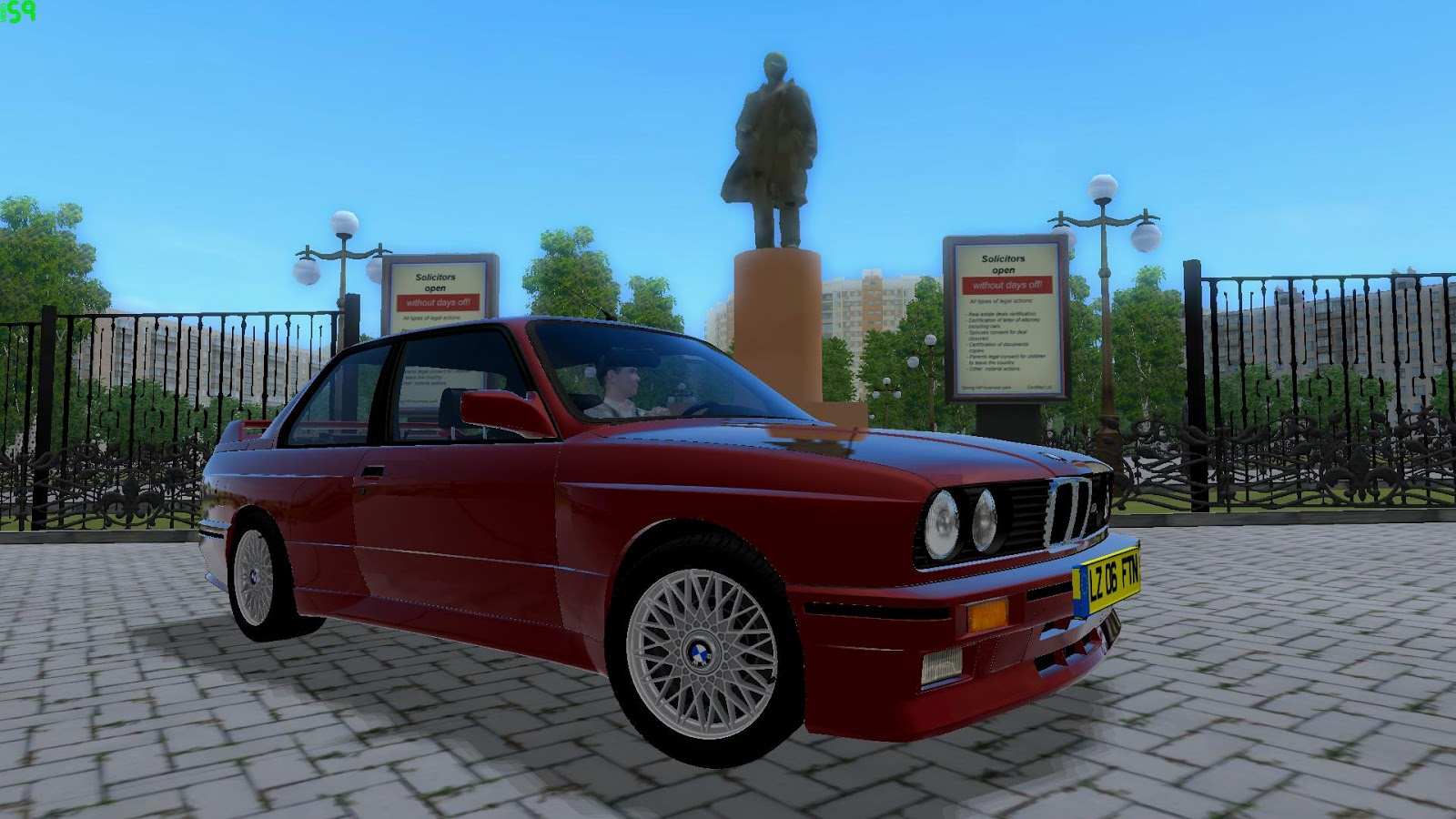 All BMW Models 91 bmw m3 City Car Driving :: Topic: BMW M3 E30 1991 - 1.2.5 (1/1)