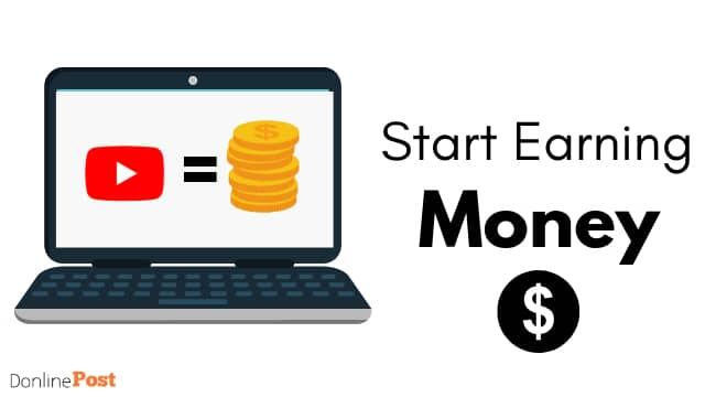 start earning money from youtube