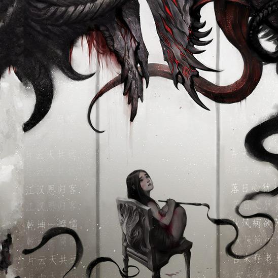 Fantasy Girl Dragon Wallpaper Engine