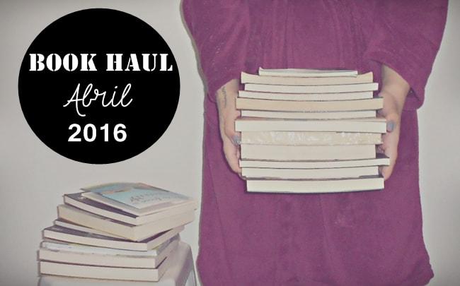 livros recebidos em abril