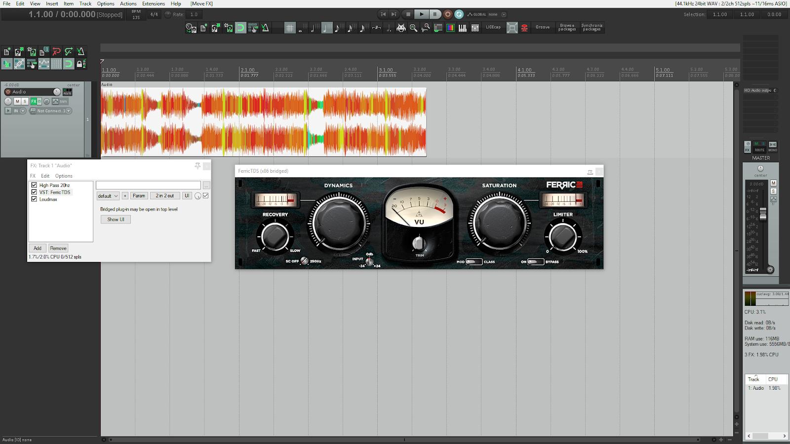 Send FX or Track FX - Audio Ordeal