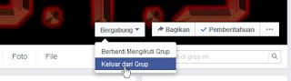Cara Keluar Dari Group Di Facebook