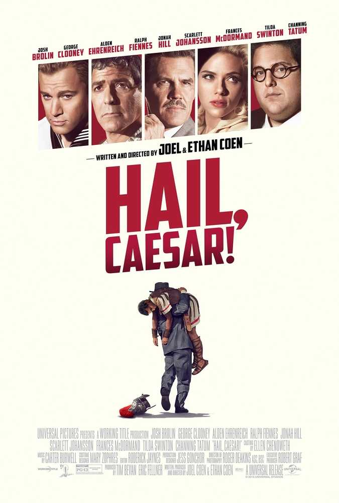 Poster Hail Caesar 2016 Full Movie Dual Audio Hindi Free Download 300Mb