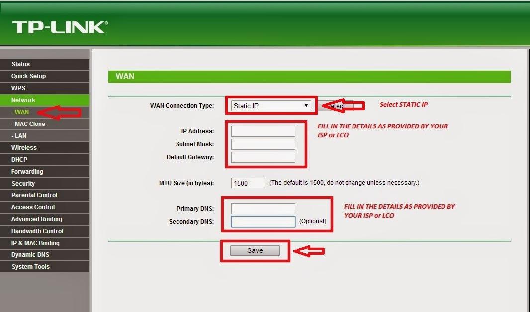 Setup Router with Siti BroadBand, Wishnet BroadBand, Alliance, Pmpl