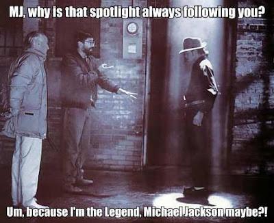 Michael Jackson Spotlight Meme