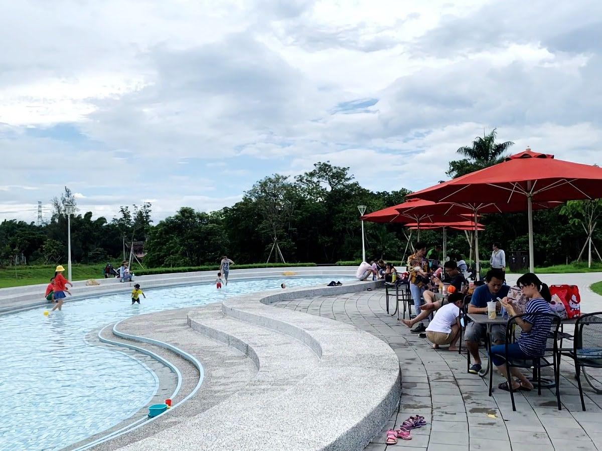 終於又可以玩水囉!山上水道博物館戲水池重新開放