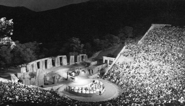 """1938: Πριν 80 χρόνια το αρχαίο Θέατρο της Επιδαύρου """"ζωντανεύει"""" και πάλι"""
