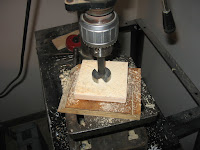 Drilling 1.5 inch holes