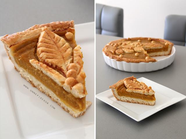 Pumpkin pie recipe - tökös pite recept