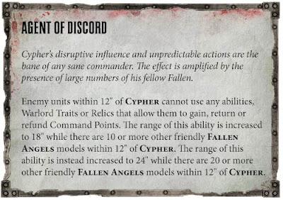 Reglas Cypher 40k