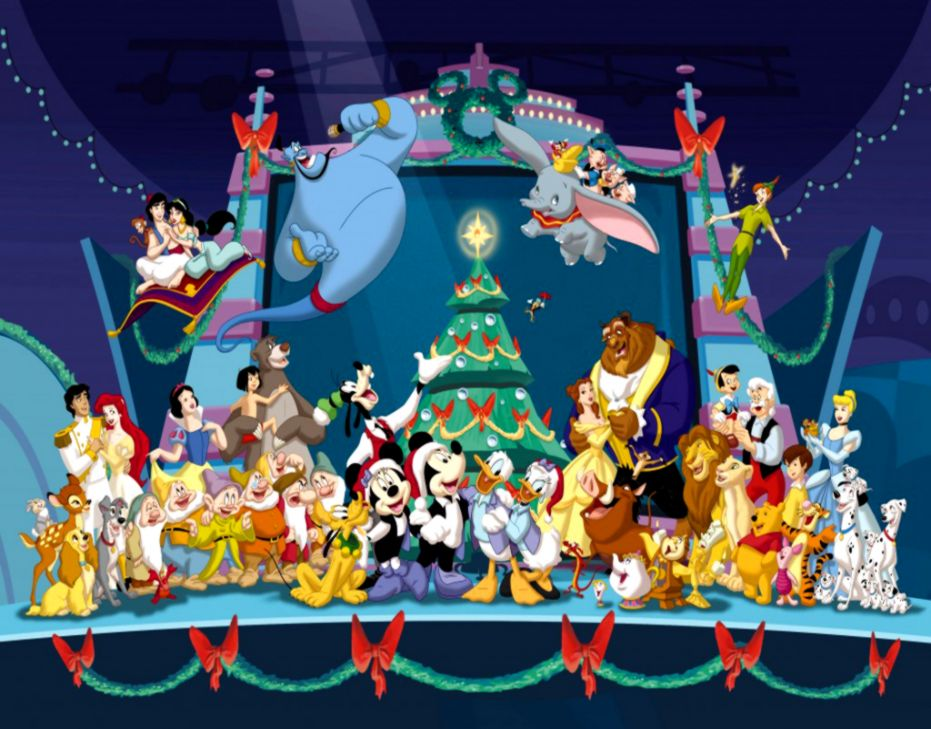 Walt Disney Christmas Wallpaper.Walt Disney Merry Christmas Wallpaper Wallpapers Titan