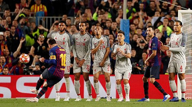 video cuplikan gol liga champions barcelona vs liverpool 3-0
