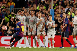 Video Cuplikan Gol Liga Champions Barcelona vs Liverpool 3-0