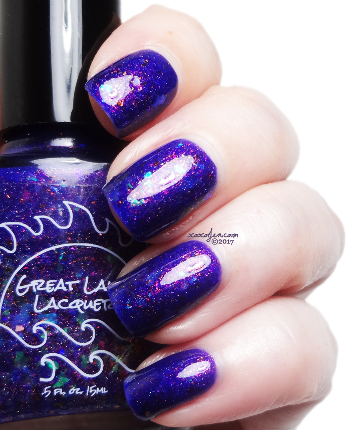 xoxoJen's swatch of Great Lakes Lacquer Festival B