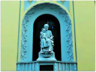 São José e O Menino na Igreja São José, Porto Alegre