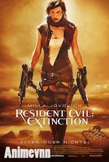 Resident Evil 3 -Vùng Đất Quỷ Dữ 3 - Resident Evil 2007 2007 Poster
