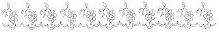 border digital grape design antique crafting download