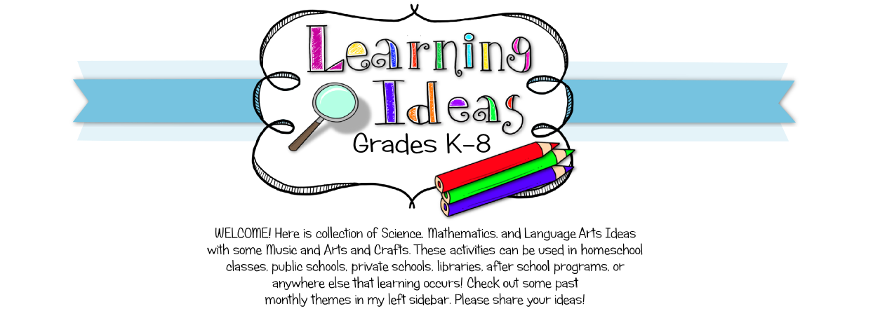 Learning Ideas - Grades K-8