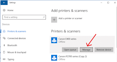 Cara setting quiet mode printer