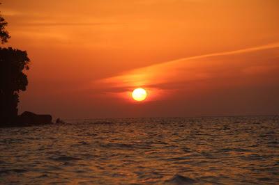 Selamat pagi dari Talang Talang Island