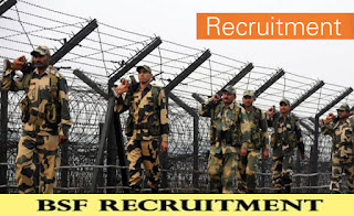BSF Recruitment for 157 ASI and Head Constables - Last Date : 30 days from date of advt