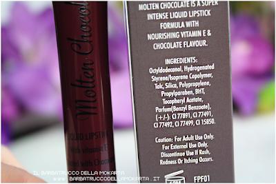 rossetto liquido lip lava molten chocolate liquid lipstick