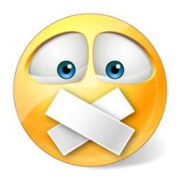 Quiet Smile Emoji