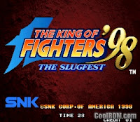 The king of figthers 98