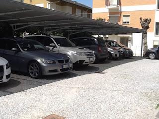 parcheggio-3 Posti auto occupati in albergo oggi