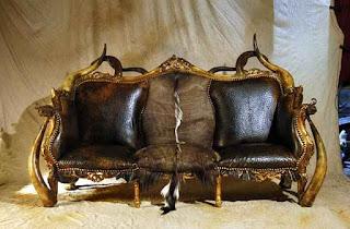 Мишель Аяр и мебель в стиле фэнтези