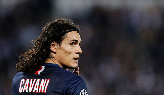 Edinson Cavani, Prediksi PSG vs Arsenal, Champions League 2016
