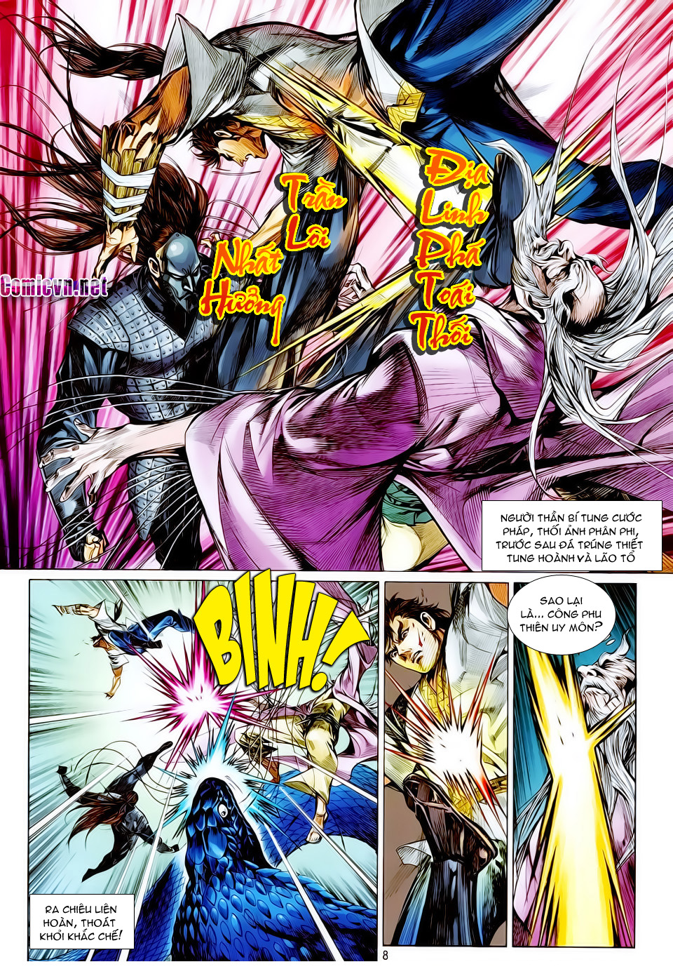 truyện tranh thiết tướng tung hoành Chapter 15/